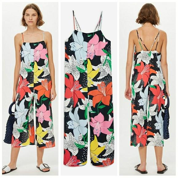 dc943f596757  Last chance  Topshop Floral jumpsuit